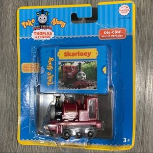 NIP Thomas Take Along Skarloey  Magnet Metal Train